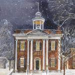 B165-Lenox Library in Winter