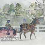 Sleigh Rally, Stockbridge
