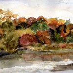 B091-Canoe-Meandows-in-Autumn, Pittsfield
