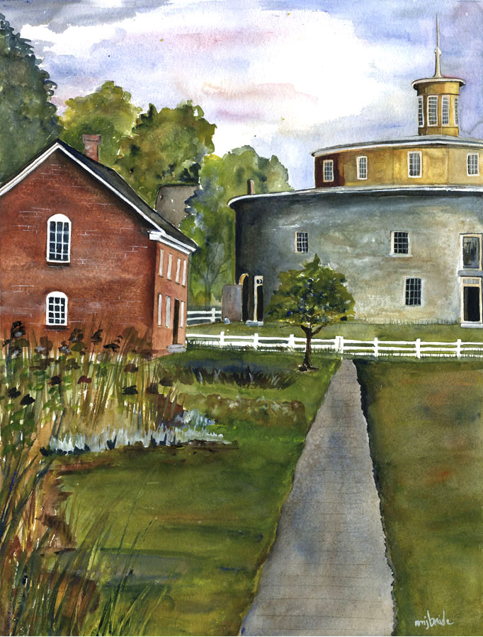 Coop-and-Round Barn