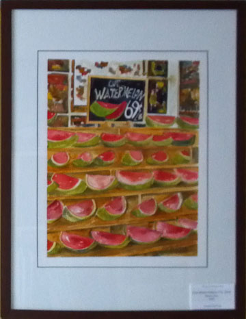Watermelons-framed