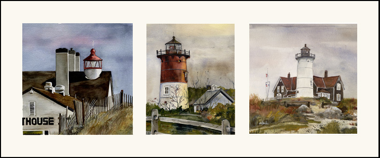 Lighthouse triptych-lighterwblk copy