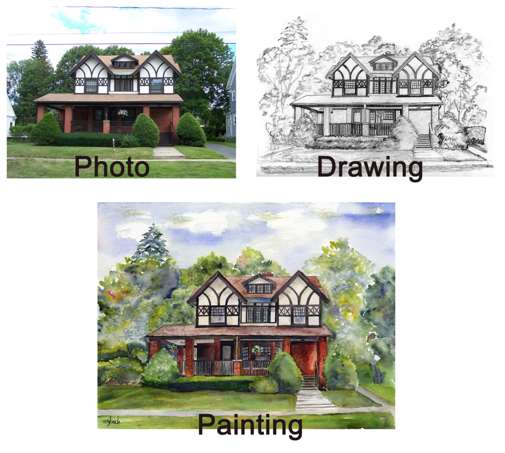 House Portrait Progression